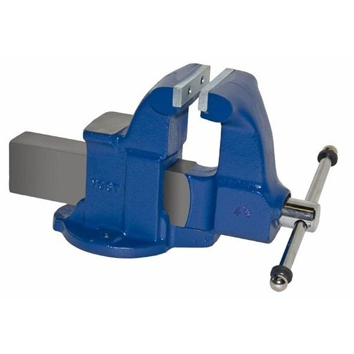 "View a Larger Image of 4-1/2"" Heavy Duty Machinists' Vise with Stationary Base, Model 104.5"