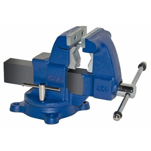 "View a Larger Image of 4-1/2"" Tradesman Combination Pipe and Bench Vise with Swivel Base, Model 45C"
