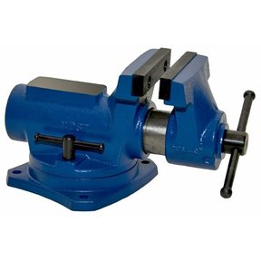 "4"" Compact Bench Vise with 360 Degree Swivel Base Vise, Model RIA-4"