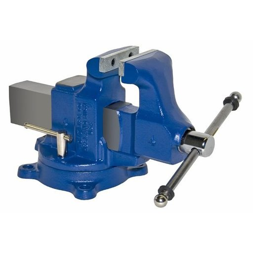 "View a Larger Image of 4"" Heavy Duty Machinists' Vise with Swivel Base, Model 204"