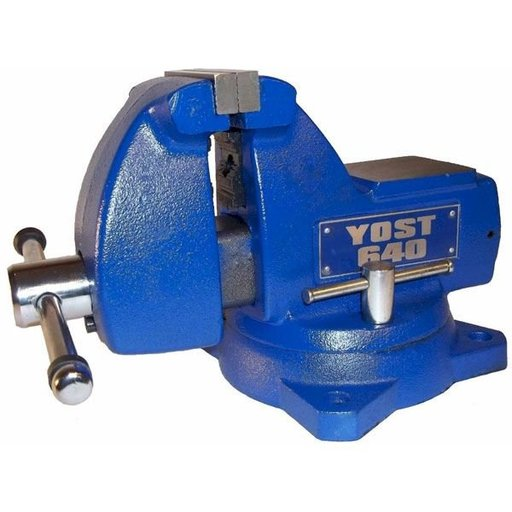 "View a Larger Image of 4"" Mechanics Vise, Model 640"
