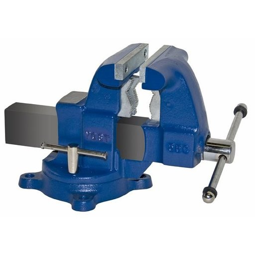 "View a Larger Image of 5-1/2"" Tradesman Combination Pipe and Bench Vise with Swivel Base, Model 55C"