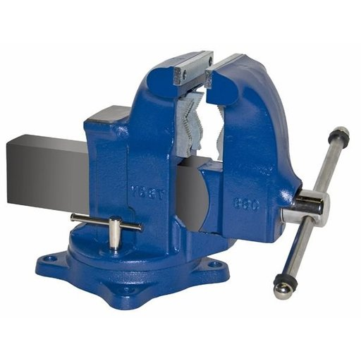 "View a Larger Image of 5"" Heavy Duty Combination Pipe and Bench Vise with Swivel Base, Model 33C"