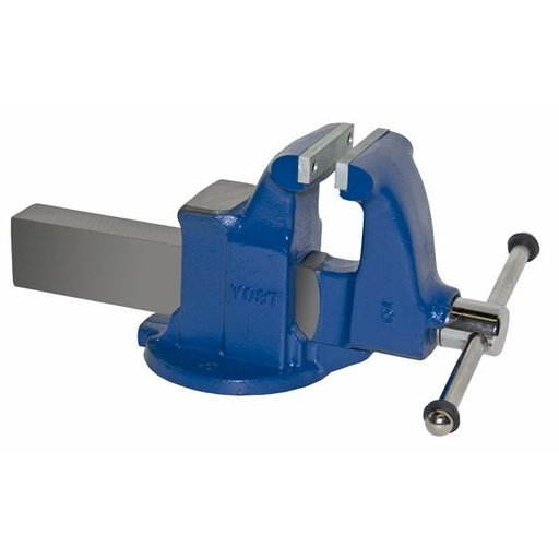 "View a Larger Image of 5"" Heavy Duty Machinists' Vise with Stationary Base, Model 105"