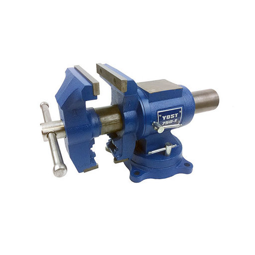 "View a Larger Image of 5"" Medium Duty Rotating Vise, Model 750-E"