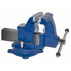 """6-1/2"""" Tradesman Combination Pipe and Bench Vise with Swivel Base, Model 65C"""