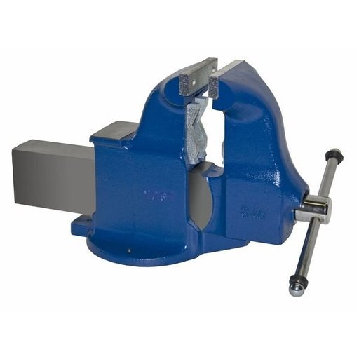 "View a Larger Image of 6"" Heavy Duty Combination Pipe and Bench Vise with Stationary Base, Model 134C"