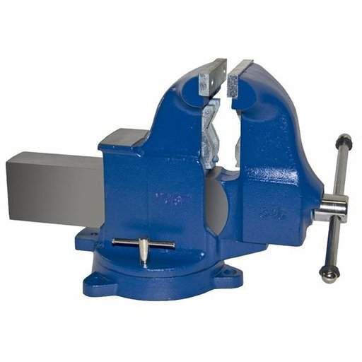 "View a Larger Image of 6"" Heavy Duty Combination Pipe and Bench Vise with Swivel Base, Model 34C"
