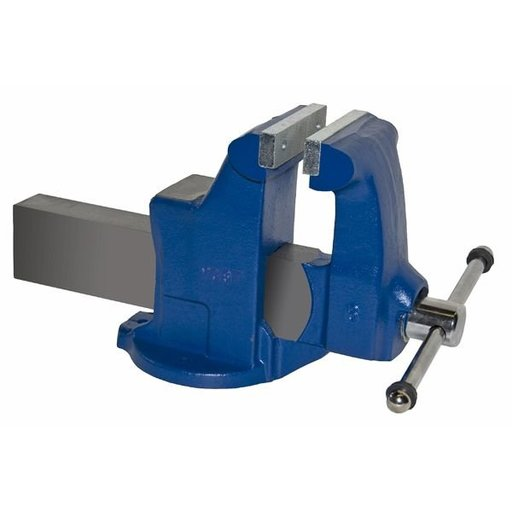 "View a Larger Image of 6"" Heavy Duty Machinists' Vise with Stationary Base, Model 106"