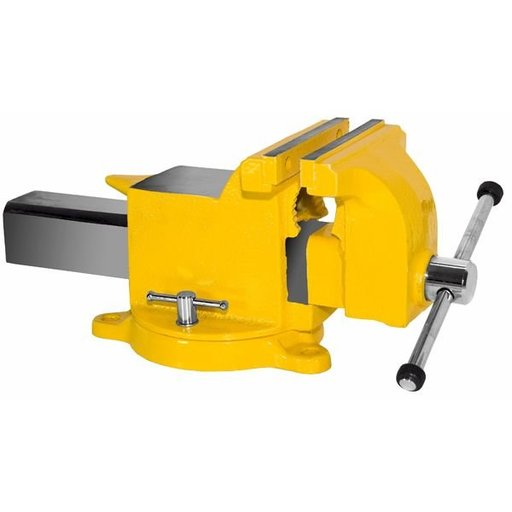 "View a Larger Image of 6"" High Visibility All Steel Utility Workshop Vise, Model 906-HV"