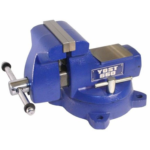 "View a Larger Image of 6"" Mechanics Vise, Model 660"