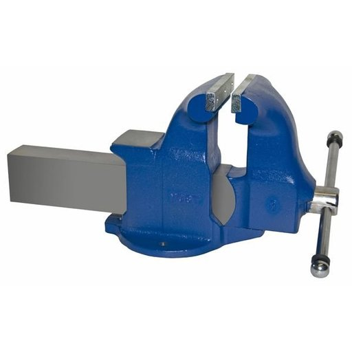 "View a Larger Image of 8"" Heavy Duty Machinists' Vise with Stationary Base, Model 108"
