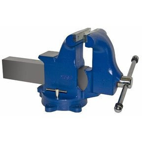 "8"" Heavy Duty Machinists' Vise with Swivel Base, Model 208"