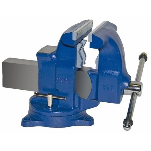 "View a Larger Image of 8"" Tradesman Combination Pipe and Bench Vise with Swivel Base, Model 80C"