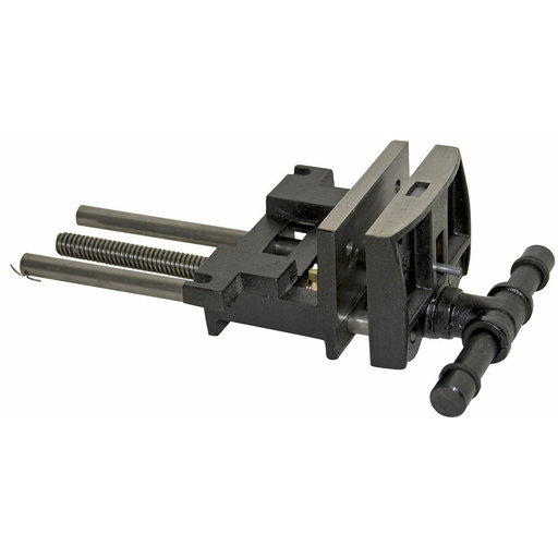 View a Larger Image of Heavy Duty Ductile Iron Woodworker's Vise, 7 In., Rapid Action