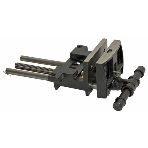 View a Larger Image of Heavy Duty Ductile Iron Woodworker's Vise, Model 7WW-CA