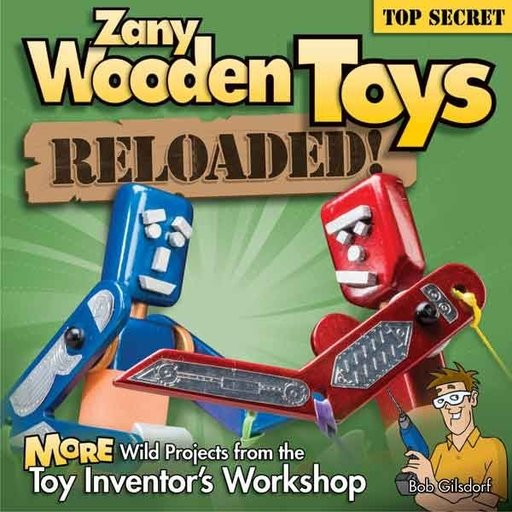 View a Larger Image of Zany Wooden Toys Reloaded