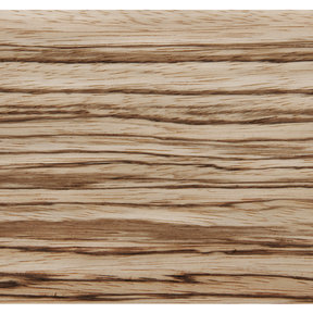 Zebrawood, Quartersawn 4'X8' Veneer Sheet, 10MIL Paper Backed