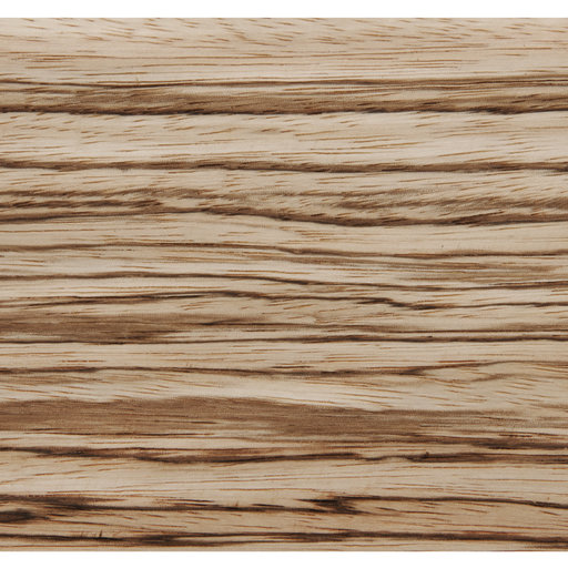 View a Larger Image of Zebrawood Veneer Sheet Quarter Cut 4' x 8' 2-Ply Wood on Wood