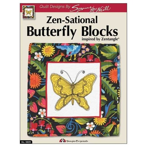View a Larger Image of Zen-sational Quilting: Butterfly Blocks