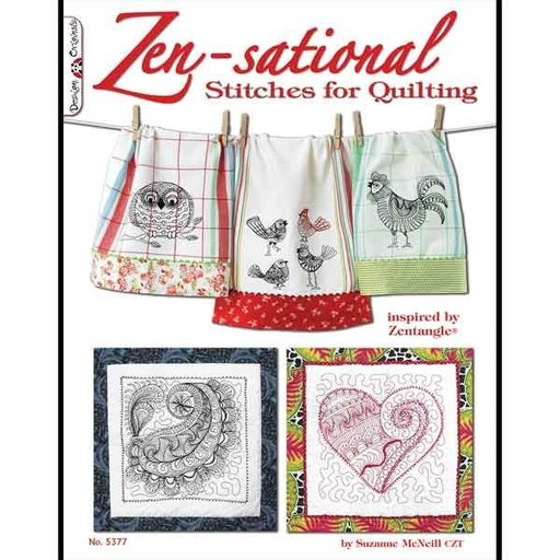 View a Larger Image of Zen-sational Stitches for Quilting