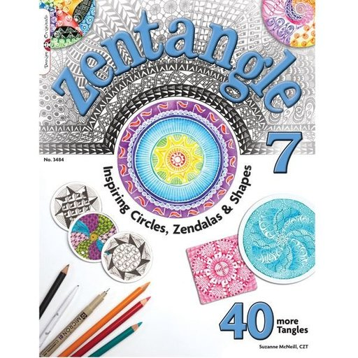 View a Larger Image of Zentangle 7