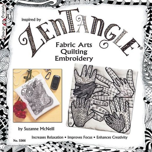 View a Larger Image of Zentangle Fabric Arts