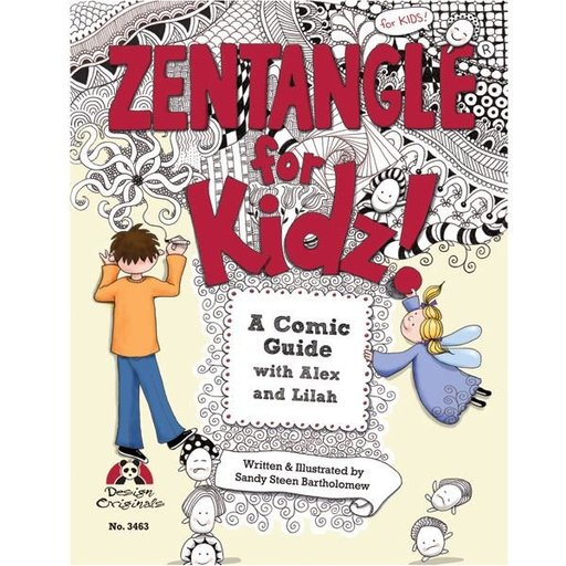 View a Larger Image of Zentangle for Kidz!