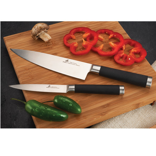 View a Larger Image of ZHEN Japanese High Carbon Forged Stainless Steel Chef and Utility Knife Set - Finished