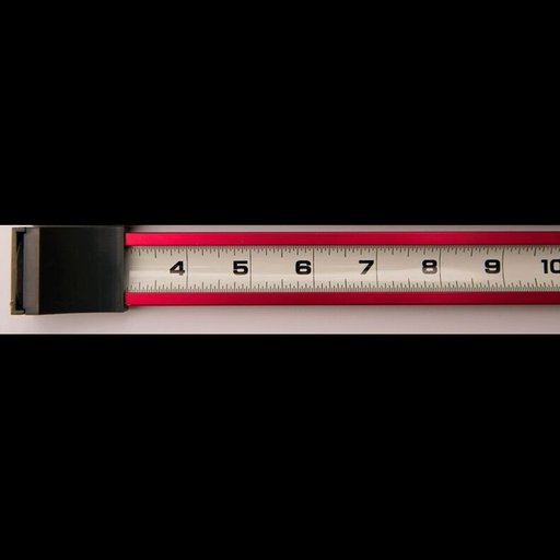 View a Larger Image of Zip Measure - Red
