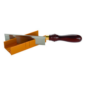 s Deluxe Fine Kerf Razor Saw and Miter Set